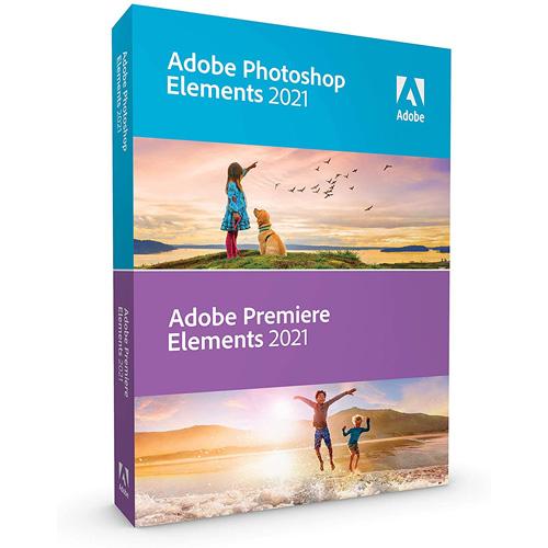 Adobe Photoshop + Premiere Elements 2021