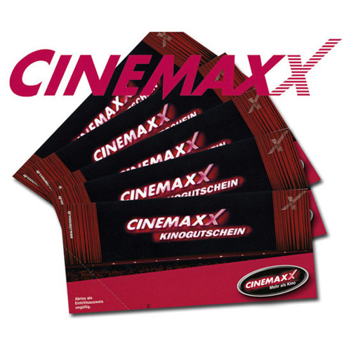 Gutschein CinemaxX Kino 5er Set