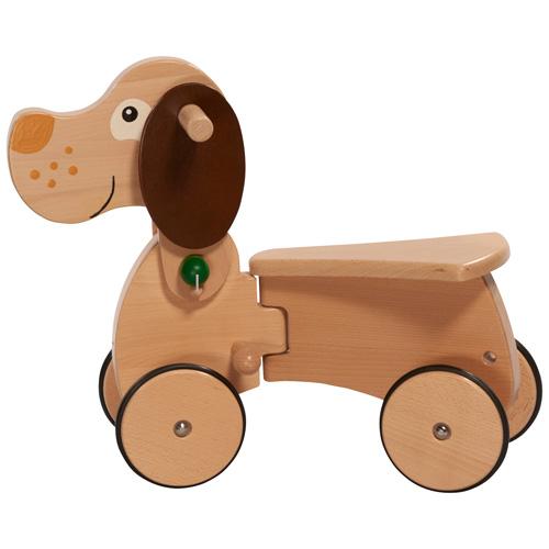 Nic Holz-Babyrutscher CombiCar- Hund