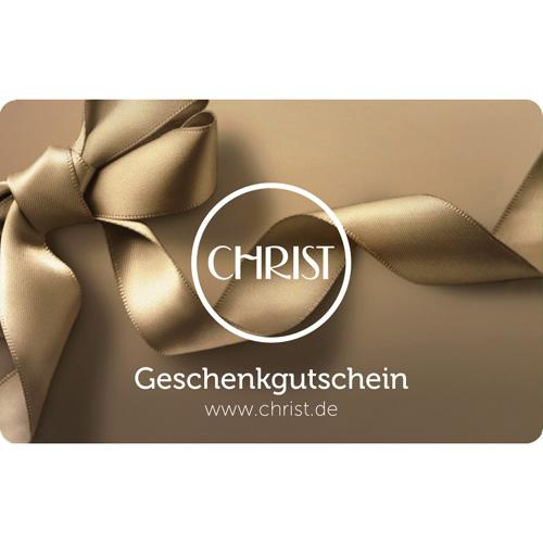 Geschenkgutschein CHRIST Uhren & Schmuck € 50
